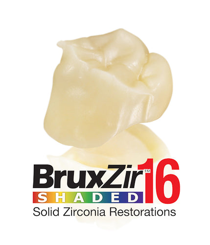 BruxZir® 16 Cut-Back Crown
