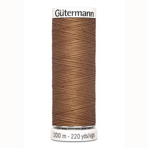 Matching sewing thread no 842 - pecan brown palm trees