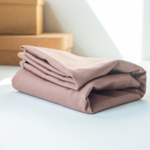 Mind the maker - Oudroze washed cotton twill - €20/m