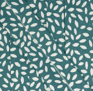 Bias with leaf motif in green - € 2 / m