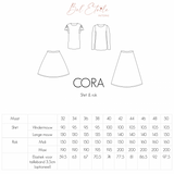 Bel'Etoile - Cora top and skirt pattern