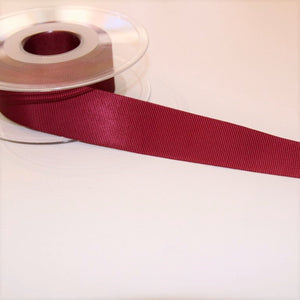 Dark pink rib ribbon - € 1,5 / m