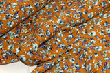 Italian viscose crepe with small flowers - €28,9/m