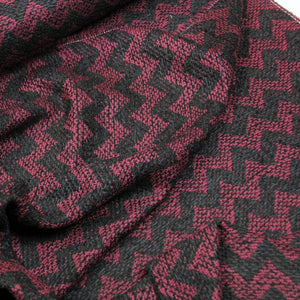 -50% Bordeaux luxe tweed - €39,8 ipv 79,5/m