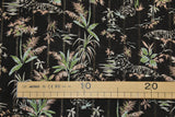 Italian viscose with lurex and palm print- €28,9/m