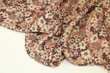 Old pink viscose with flowers - €19,9/m