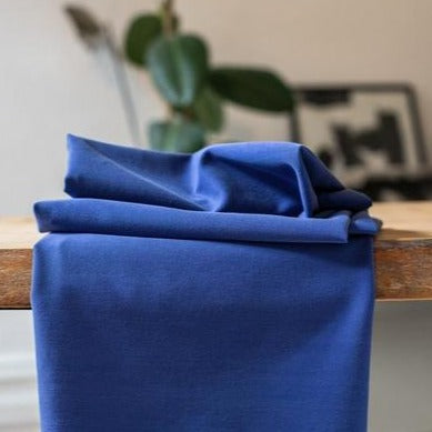 Meet Milk - Soft stretch twill tencel blauw - €26/m