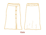 Atelier Jupe - Lottie & Kate rok patroon