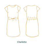 Atelier Jupe - 2 in 1 Charlotte & Lou - dress and top pattern