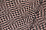 Checked wool with lurex - € 54,5 / m