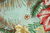Italian cotton with tropical colors - € 28,9 / m