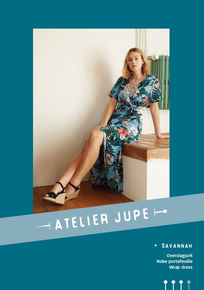Atelier Jupe - Savannah wrap dress pattern