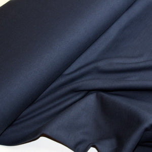 Dark blue sweater fabric in organic cotton - € 26,5 / m
