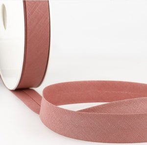 Old pink biais ribbon - € 0,8 / m