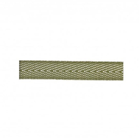 Khaki two-tone ribbon - € 0,5 / m