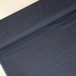 Blue fine wool with jeans look - €27/m