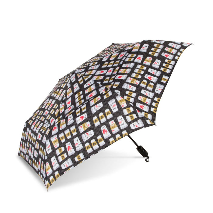 WindPro® Flatwear™ Fashion Print Auto Open & Close Compact Vented Wind Umbrella