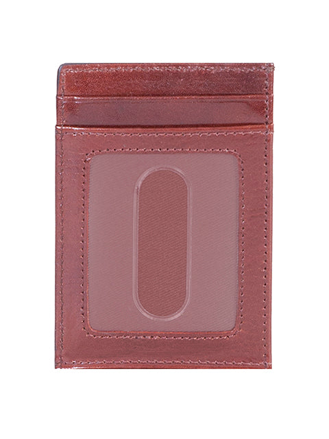 Scully Leather Card Case