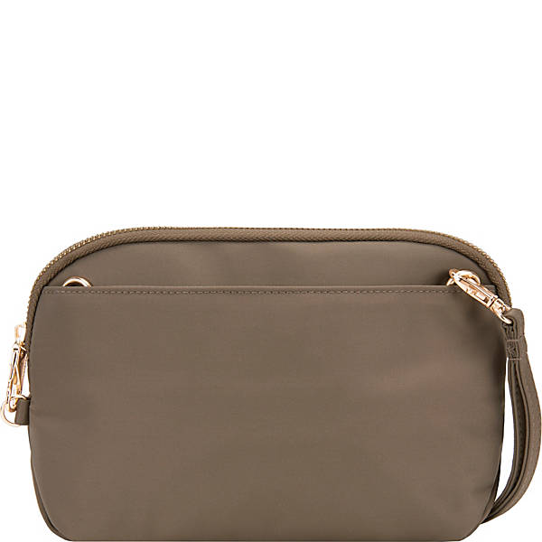 Travelon Anti-Theft Tailored Convertible Crossbody Clutch