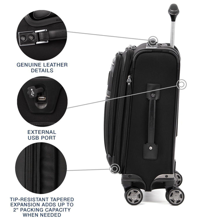 Platinum Elite International Expandable Carry-On Spinner