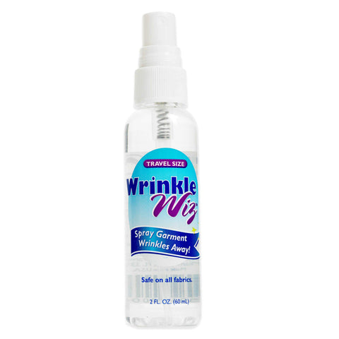 Wrinkle Wiz #WZ201 Travel Size Wrinkle Remover Spray - 2oz