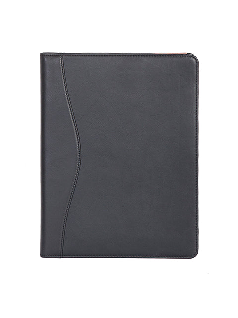 Soft Plunge Leather Letter Size Pad