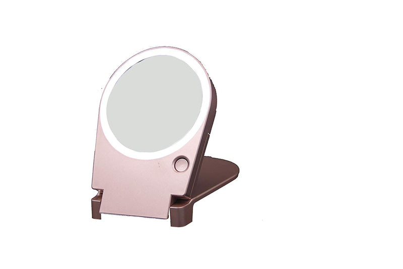 Floxite Magnified Lighted Travel & Home Mirror