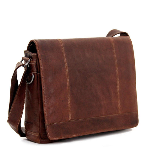 Jack Georges #7315 Full Size Messenger Bag - Voyager Collection