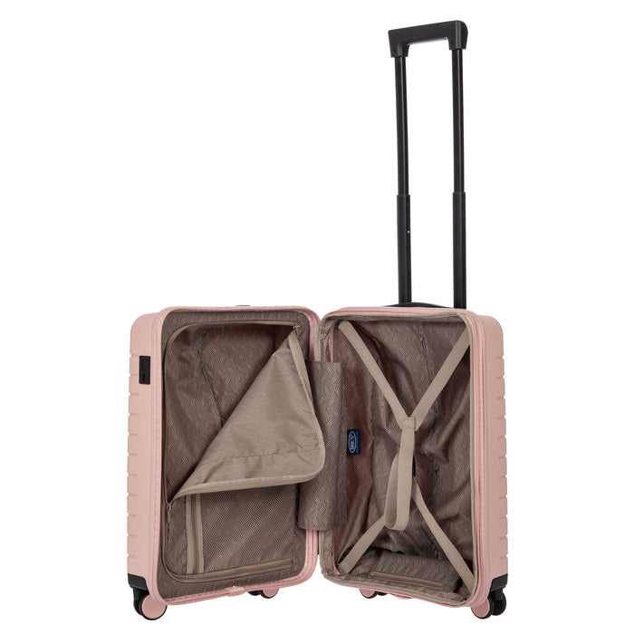 "Bric's B Y Ulisse Expandable Spinner - 21"" Pearl Pink"