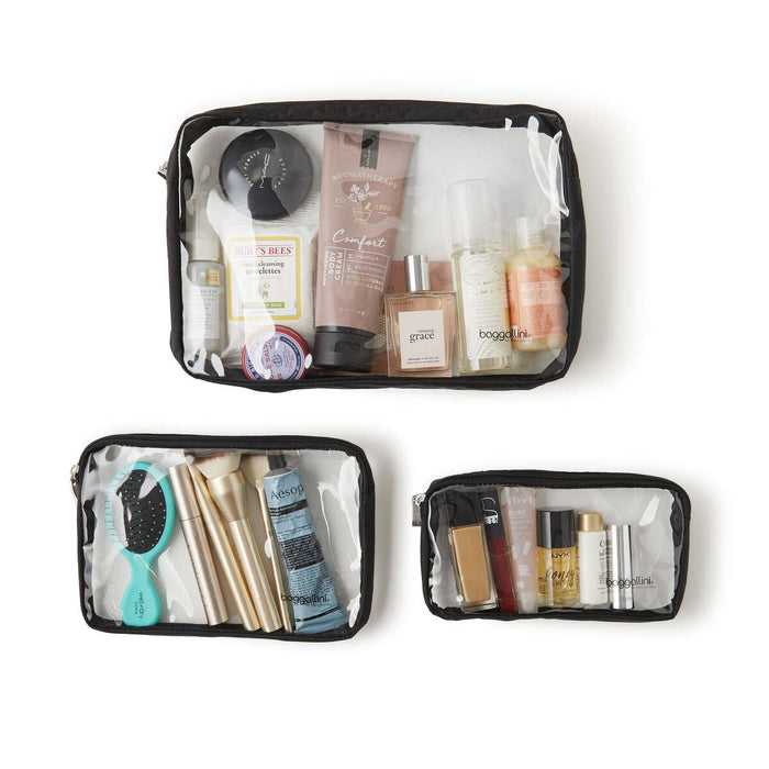 Getaway Clear Travel Pouches