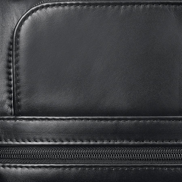 Solo Franklin Leather Rolling Case