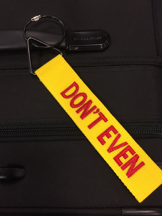 "TudeTag - ""Don't Even"" Luggage Tag Identifier"