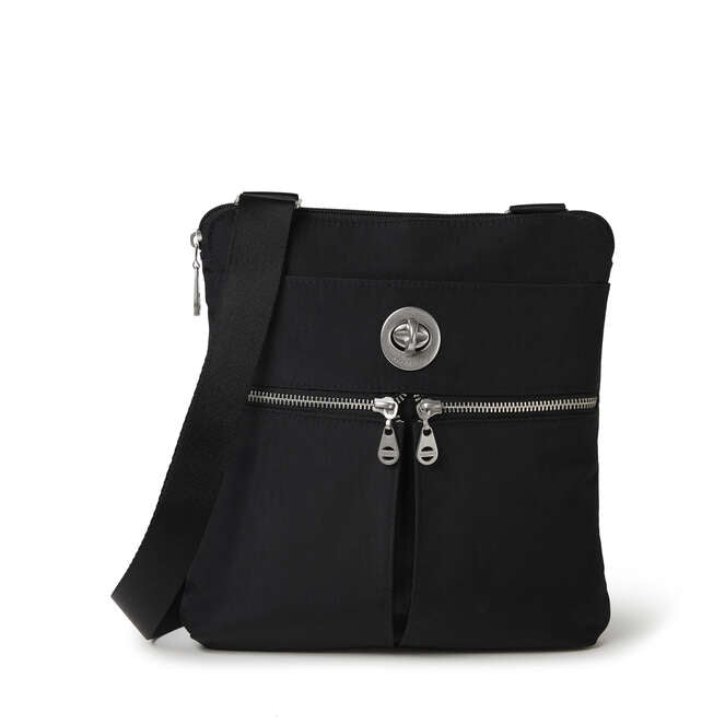 Madras RFID Crossbody Bag