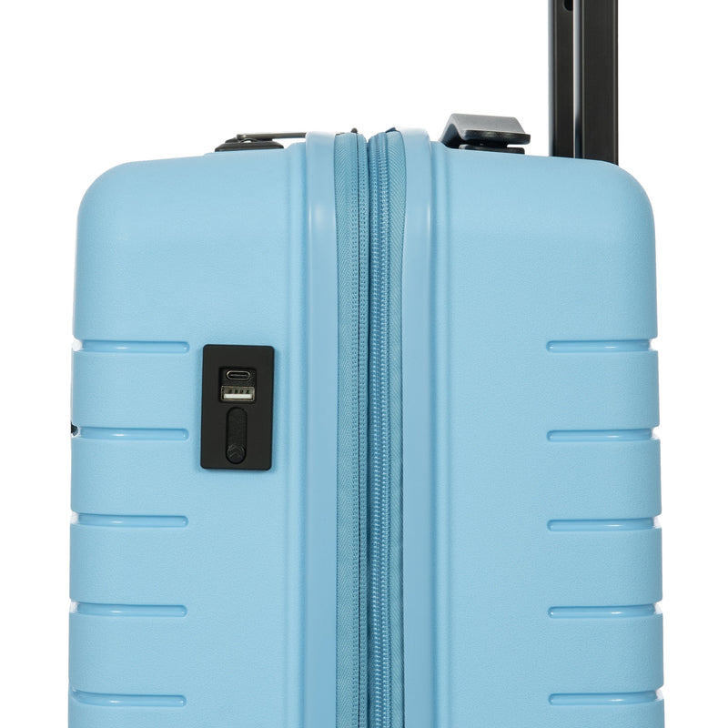 "Bric's B Y Ulisse Expandable Spinner - 21"" Sky Blue"