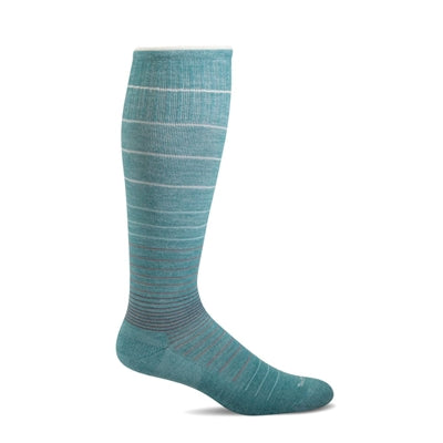 Sockwell Women's Striped Circulator Graduated Compression Socks #SW1W