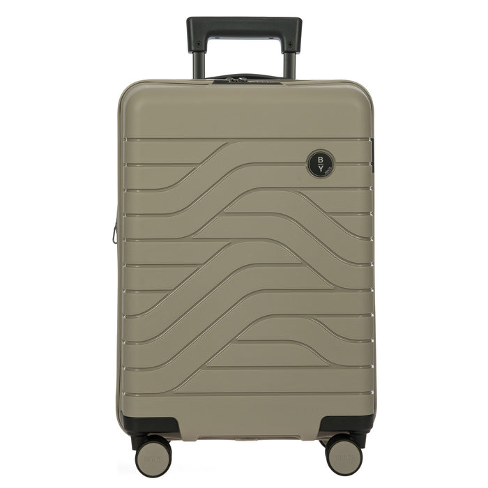 "Bric's B Y Ulisse Expandable Spinner - 21"" Dove Grey"