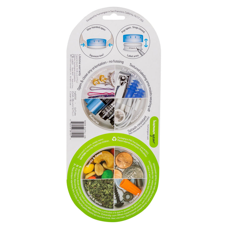 GoTubb 2 Pack Set Travel Containers - Large