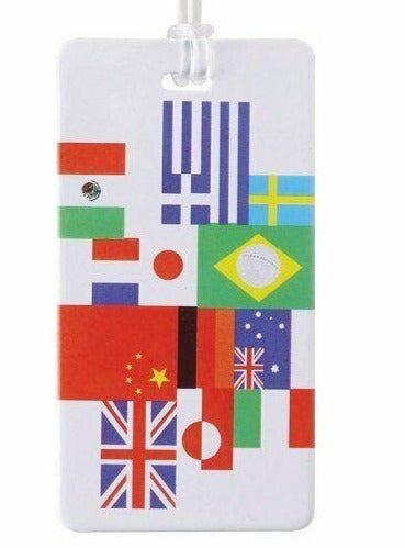 International Flag Luggage Tag - #ID29