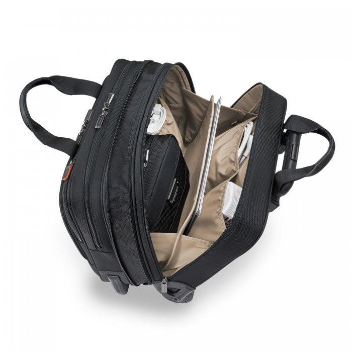 Medium 2-Wheel Expandable Brief - @Work Collection #KR420X