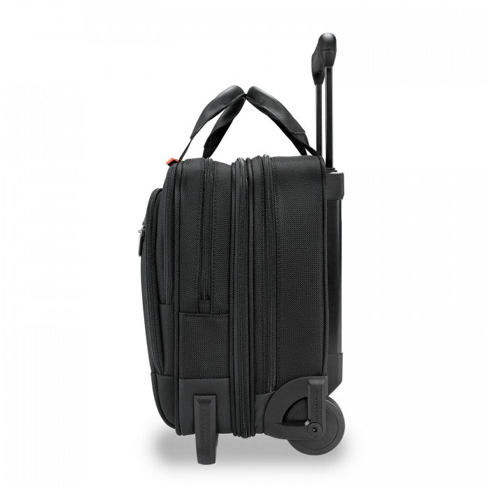 Briggs & Riley #KR420X Medium 2-Wheel Expandable Brief - @Work Collection