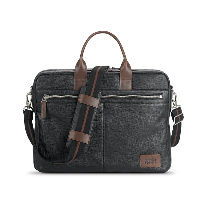 Solo Shorewood Leather Briefcase #LEA300