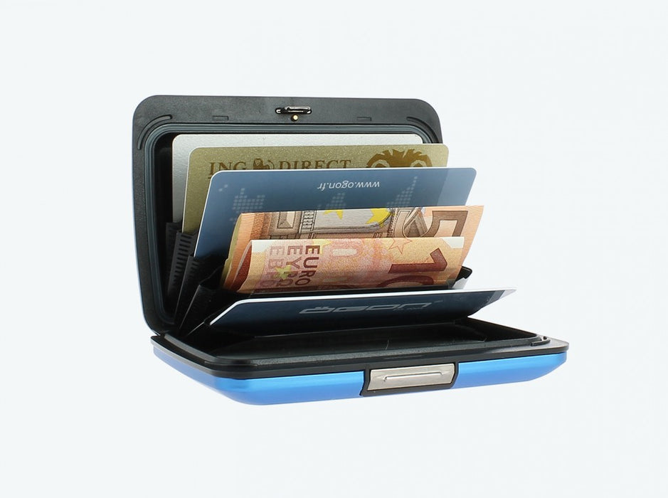 Ogon RFID Aluminum Wallet & Card Case