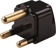 South Africa/India Grounded Adapter Plug