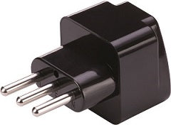 Italy Grounded Adapter Plug