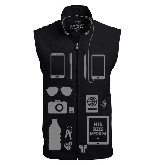 ScotteVest RFID Travel Vest for Men