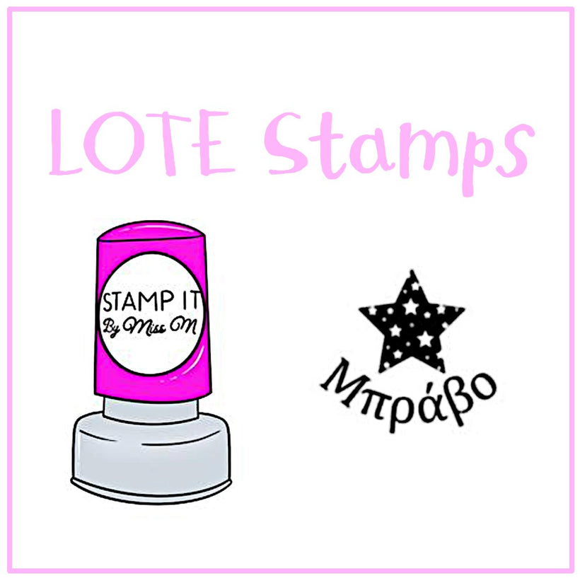 LOTE Stamps and Stickers