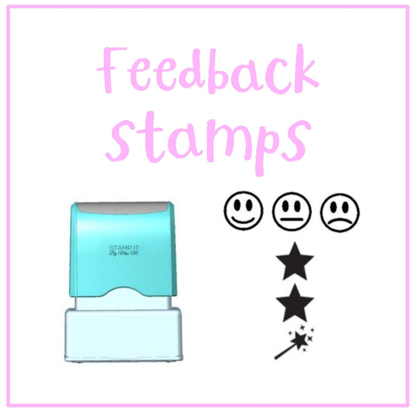 Feedback and Reflection Stamps
