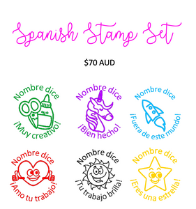 Spanish Stamp Set