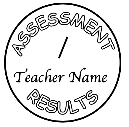 Assessment stamp