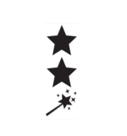 Star Star Wish Stamp